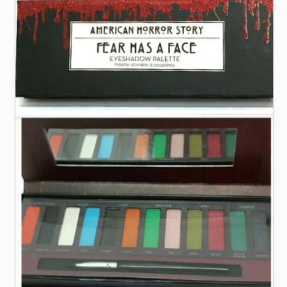 Hot Topic Makeup American Horror Story Eye Palette New In Box